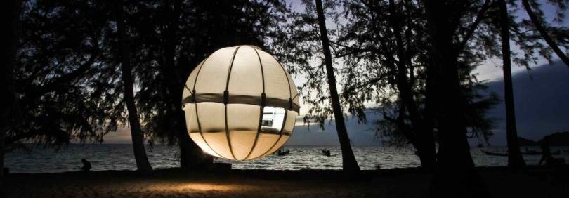 Cocoon Tree Village concept, for luxury Glamping